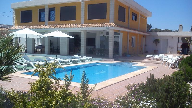 Beautiful spacious private Villa in Alicante, vacation rental in Agost