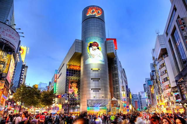 CENTRAL SHIBUYA, JUST 5 MINUTES WALK FROM THE APARTMENT!