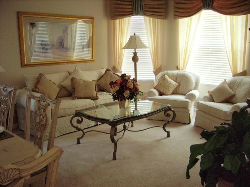 La graziosa area Lounge. Rilassatevi nel comfort tranquilla!