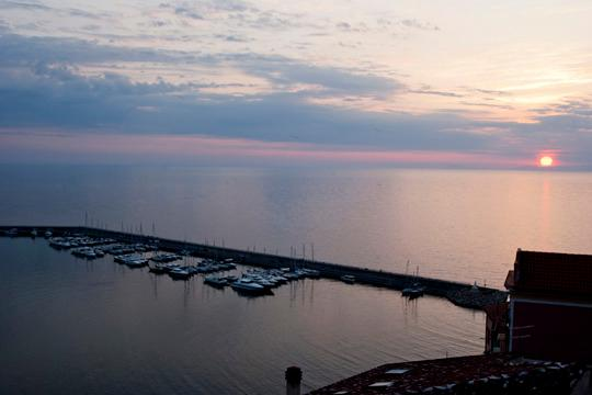 Panoramic on the sea in historical center., location de vacances à Agropoli