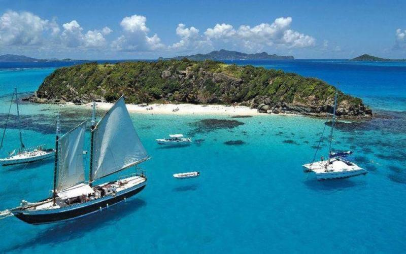 The Beautiful Tobago Cays