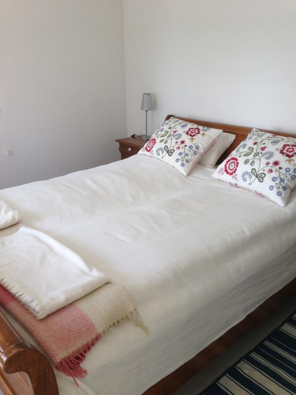 Double bed in guest house