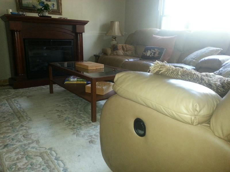 Another living room shot...sofa's recline for extra comfort