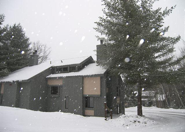 Winter View of the Exterior