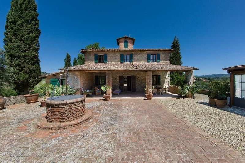 Villa La Quercia - Front Side