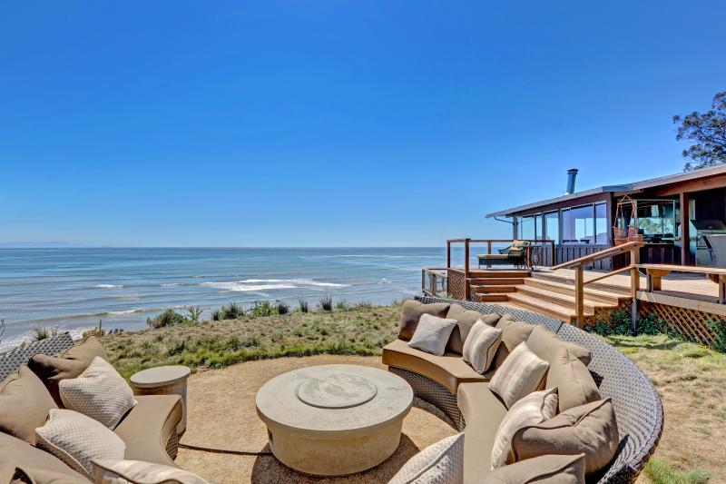 Spectacular oceanfront home with panoramic views from San Francisco, to Stinson, holiday rental in Marin County