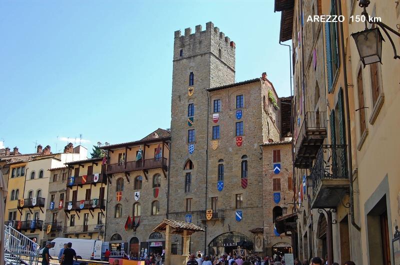 La Toscana a portata di mano: Arezzo