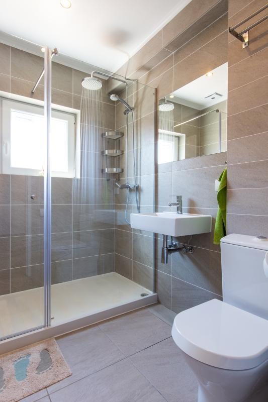 1er, salle de bain standard, « ensoleillé » moderne, de haute