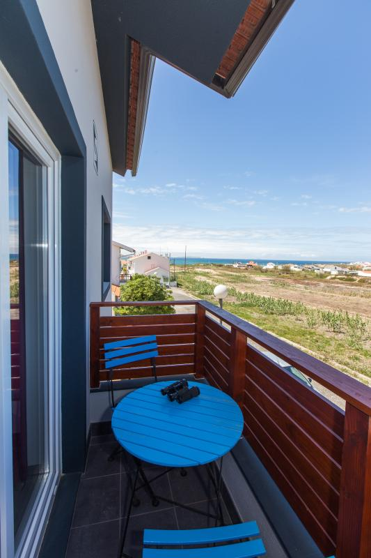 balcon avec vue sur l'océan