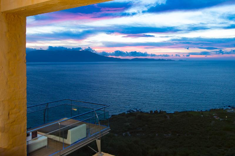 Wonderful view from balcony, enjoy beautiful sunset from our balcony!
