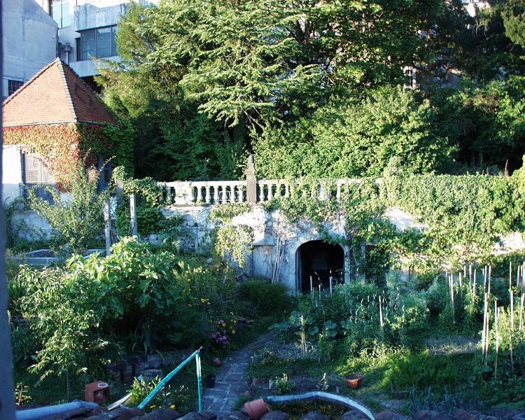 Garten (möglich Zugang)