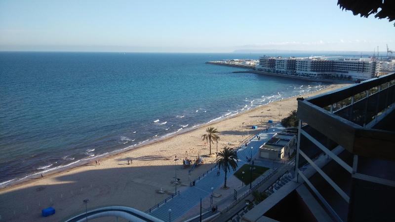Playa del postiguet, alquiler de vacaciones en Alicante
