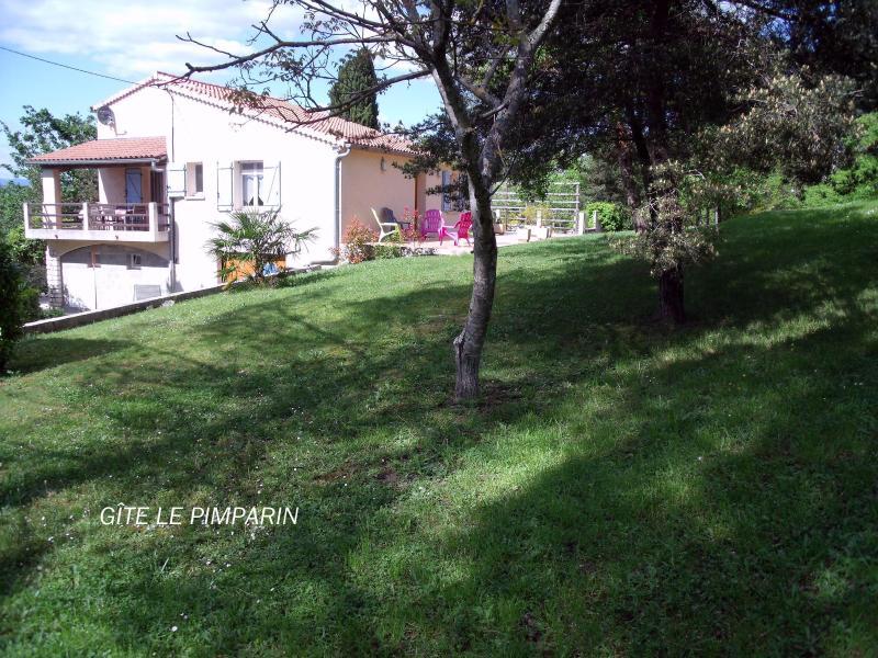 GITES LA MÉSANGE- LOCATION ARDECHE 5 A 12 PERSONNE, holiday rental in Chandolas