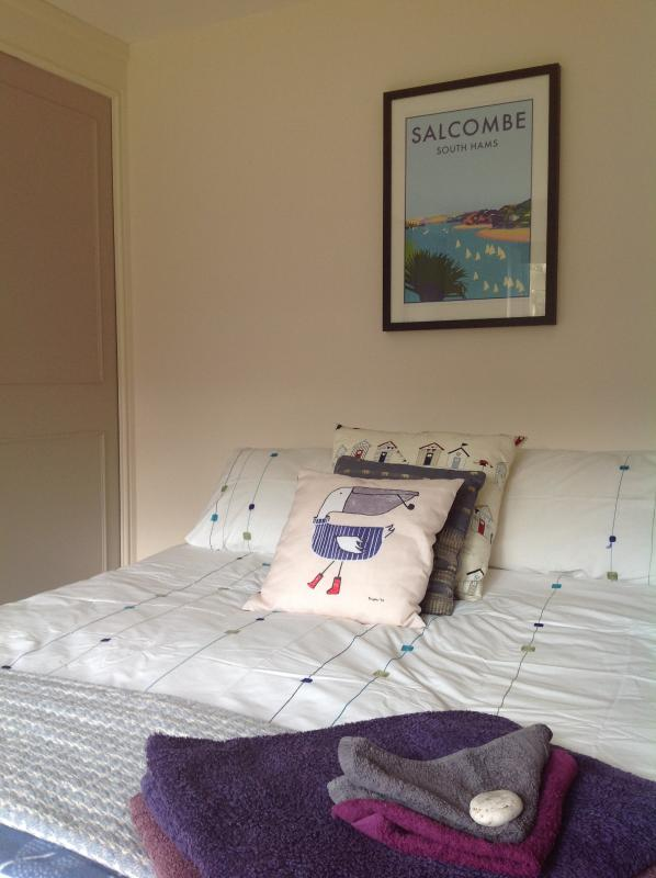 The double room at West Waterhead.