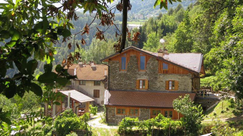 mansarda in  antico maso, poggioli splendida vista, vacation rental in Caldonazzo