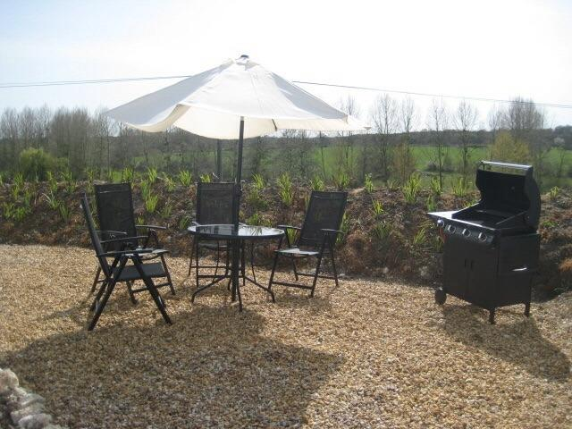 Private BBQ area