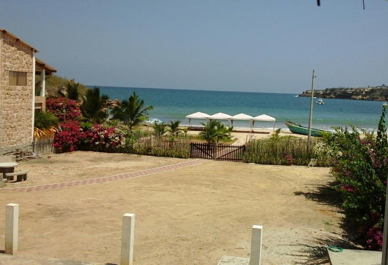 Casa Ayangue beach view