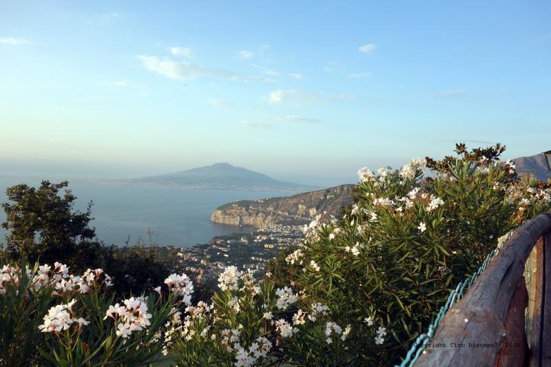 Vista panoramica de Sant'Agata Sorrento