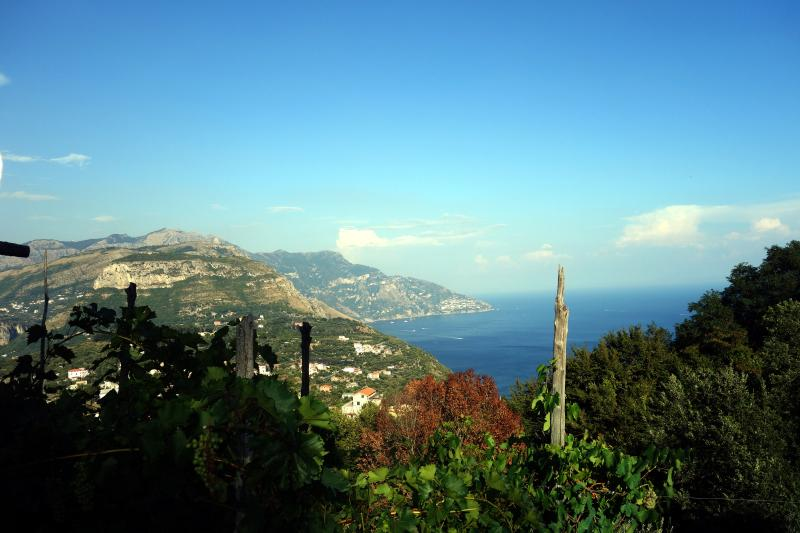 Vista de Positano desde Sant'Agata