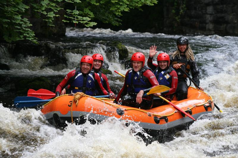White water rafting!