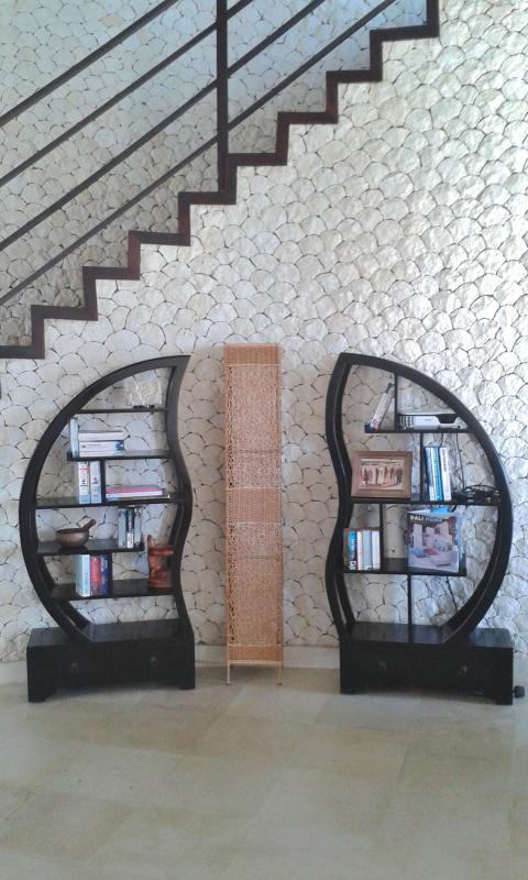 Detail of atrium and stairs to Bedroom 4