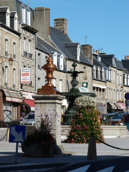 Our local town Villedieu les Poeles. .... Great Tuesday market
