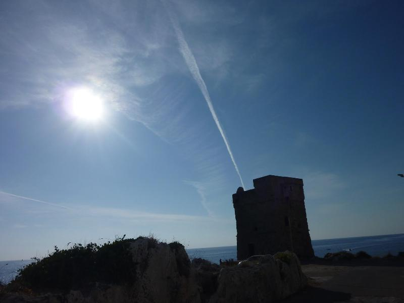Torre Palane, in Marina Serradi Tricase, only 5km from Villa Anna.