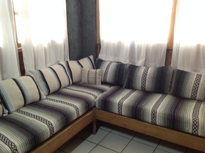 sofa by the livingroom