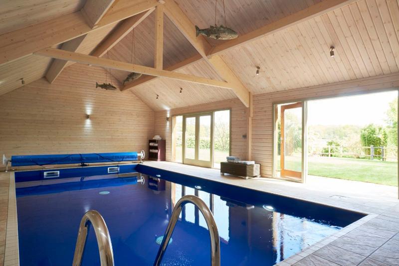 Wonderful private indoor pool