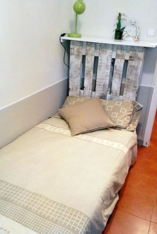 Bedroom 3 has full sized single bed but can also double as bike storage and exercise room