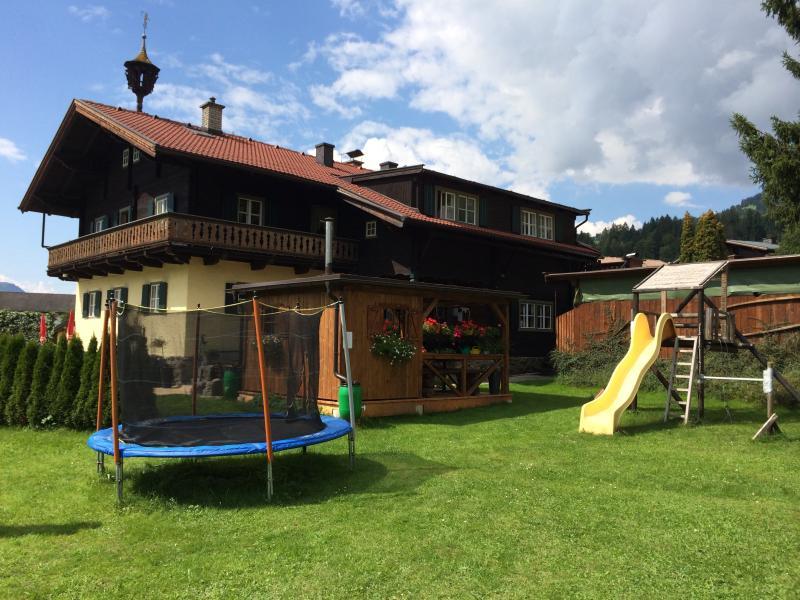 Apartments Pihapperblick | Mittersill | Salzburgerland - garden backside house