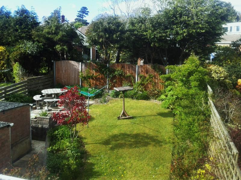 Secluded Rear Garden with Patio and Seating Area