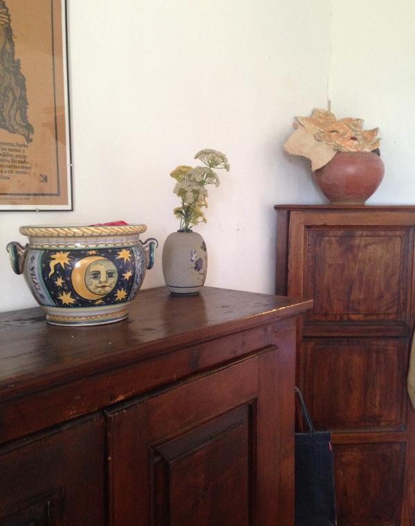 Antique furniture in the bedroom