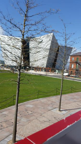 The Titanic exhibition in the nearby Titanic Quarter
