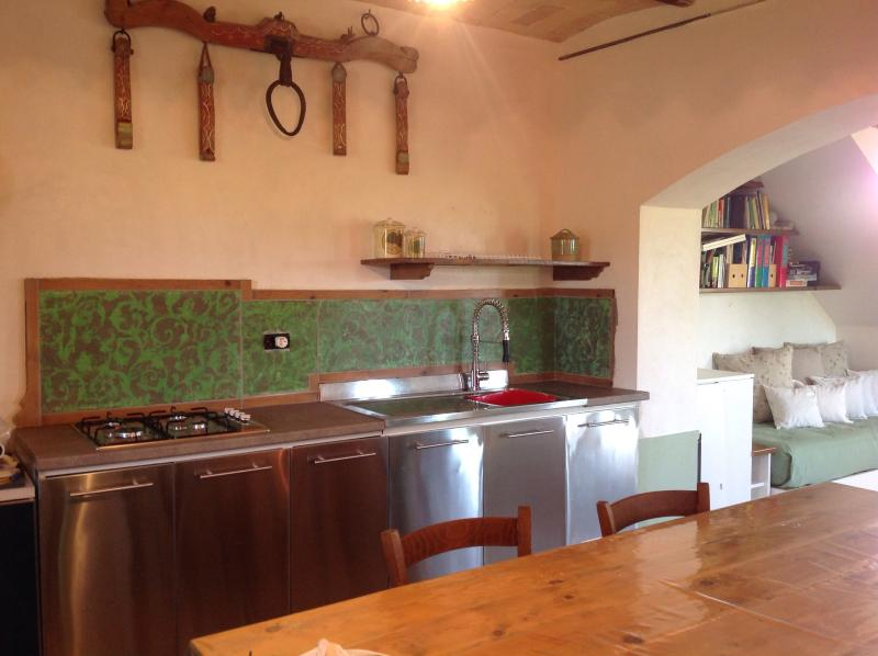 Kitchen in the main house