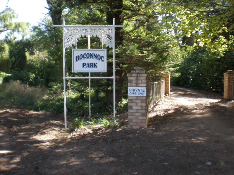 Boconnoc park entrance