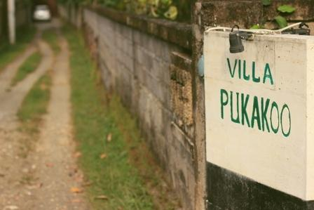 Sign of the Villa Pukakoo