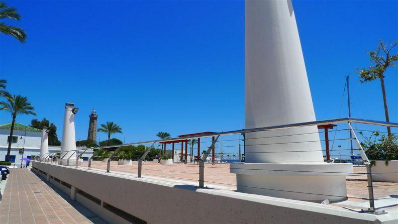 Estepona Port (1 min walking)
