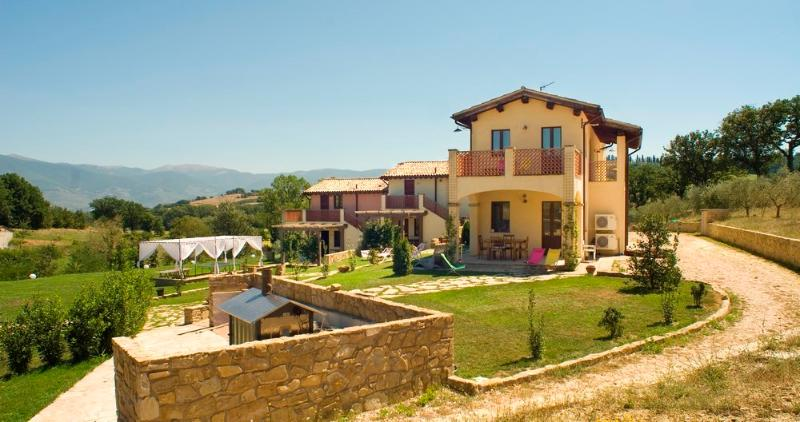Kaasjeskruid appartement Borgo le Capannelle-externe structuur