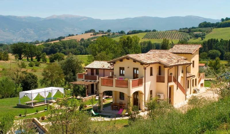 ALCEA Ferienwohnung Borgo le Capannelle-externe Struktur