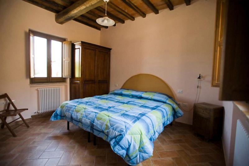 Kaasjeskruid appartement Borgo le Capannelle-slaapkamer