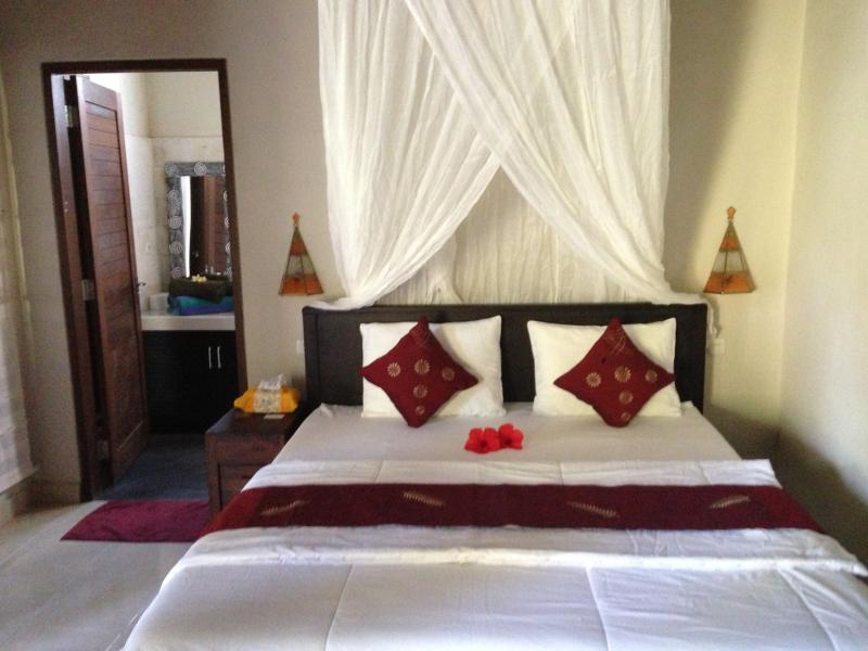3 Bedrooms with double bed and one bedroom with twin beds