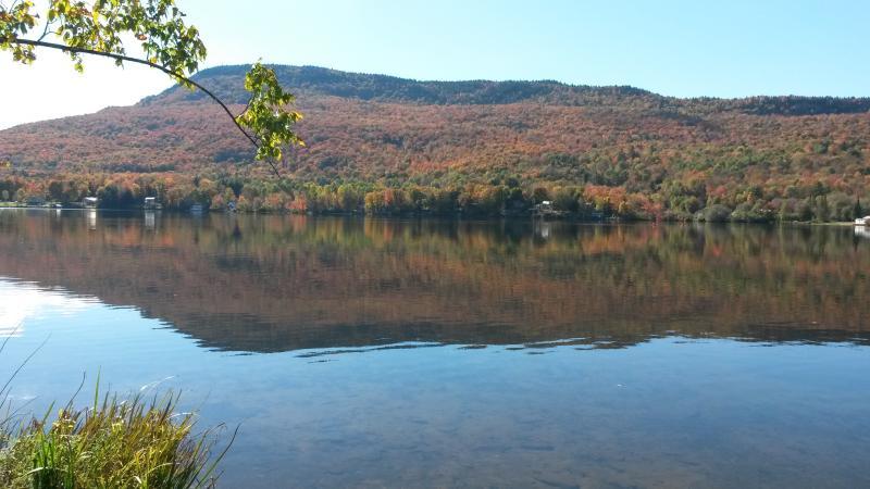 Fall Reflection on Lake Elmore