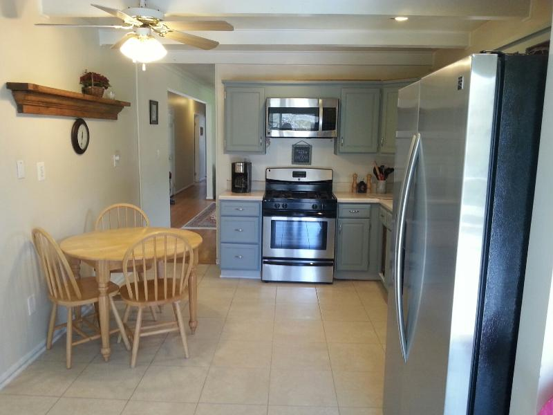 Kitchen all new appliances and new ceramic tile floors