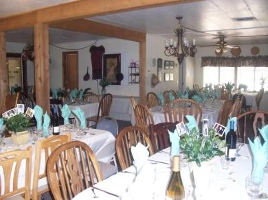 Dining room for Alpine and  Birch homes