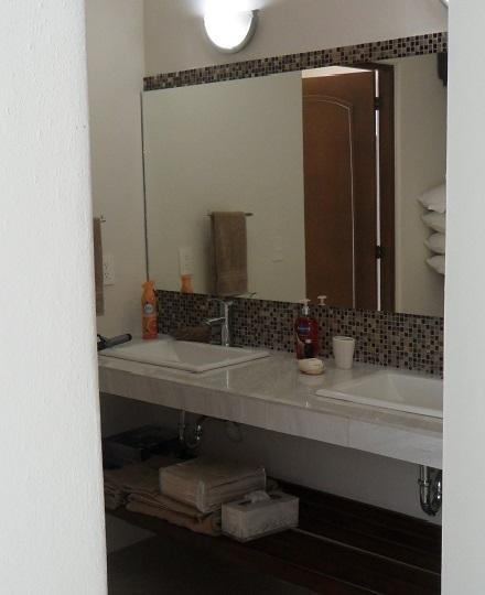 Double Sinks in King Suite