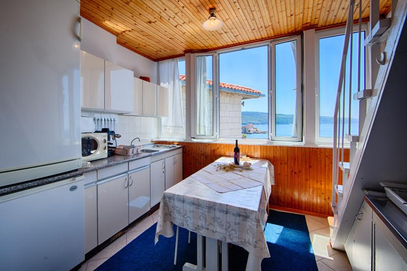 the guests' kitchen view
