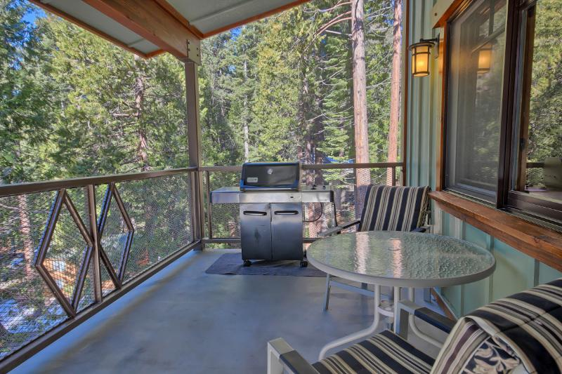 Grill and Outdoor Dining on Spacious, Fully Covered Deck