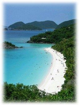 Trunk Bay at St John