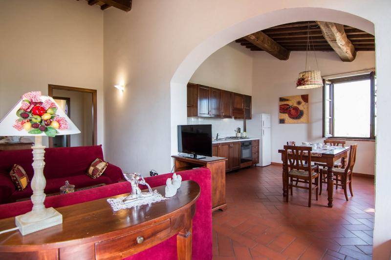 Podere Le Rane Felici - Rose, holiday rental in Fauglia